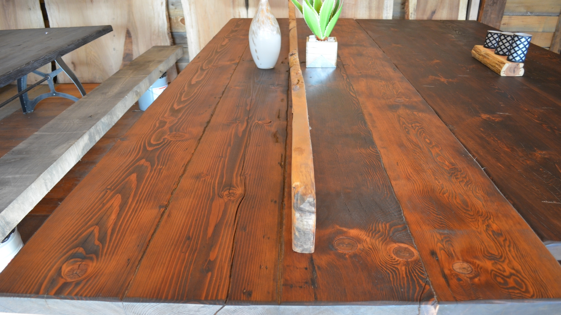 Reclaimed Doug Fir Table