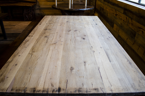 Reclaimed Quartered White Oak