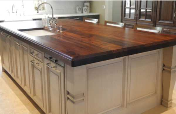 Black Walnut Island Top